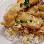 chicken fricasse-carmen