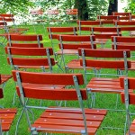 seating for wedding or party